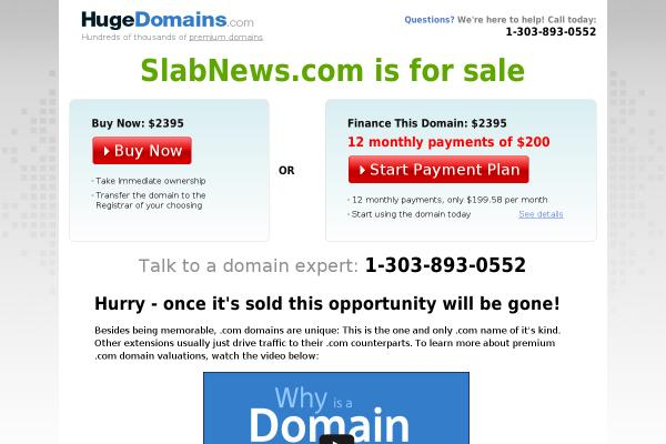 slabnews.com screenshot