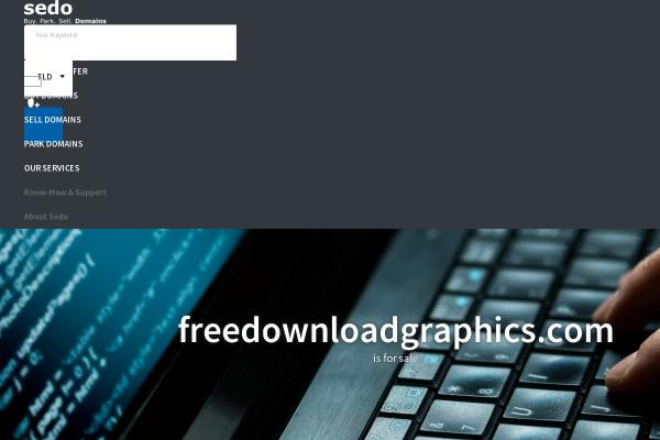 freedownloadgraphics.com screenshot