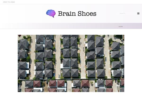 www.brainshoes.com screenshot